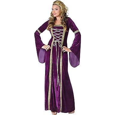 amazon costume. fun world womens plus size renaissance lady costume purple 2x amazon
