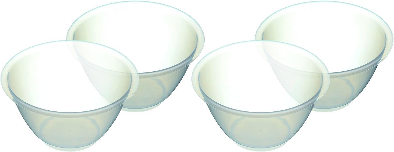 800ml lot De 4 - Set 4 Bols À Mélanger En Plastique Kitchencraft