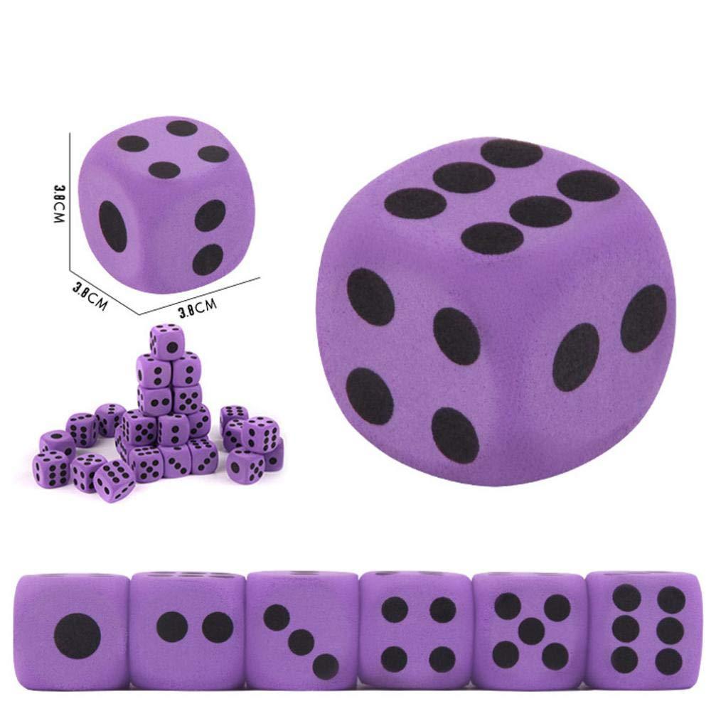 Bescita Stressabbau-Spielzeug, Riesige Jumbo Wü rfel Langsam Steigende Creme Duft Stressabbau Spielzeug (10 cm)