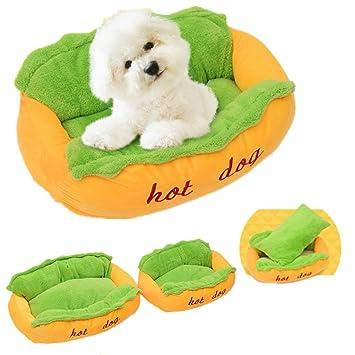 Namgiy Cesta de cama para perro, suave, lavable, extraíble: Amazon.es: Productos para mascotas
