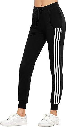 Pantalon Jogging Femme Taille Élastique avec