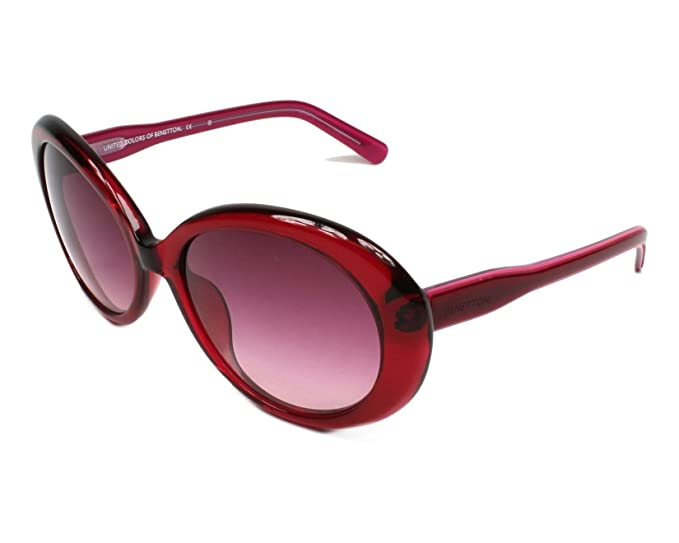 United Colors of Benetton BE906S02 Gafas de sol, Red, 55 ...
