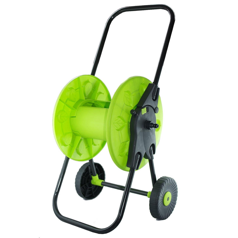 Generic NV _ 1001003447_ yc-uk2indere R Garten Bewässerung Ley G 45M Tragbarer Wate Warenkorb gratis Rohr Schlauch Spule Troley freistehend Winder 45m Por