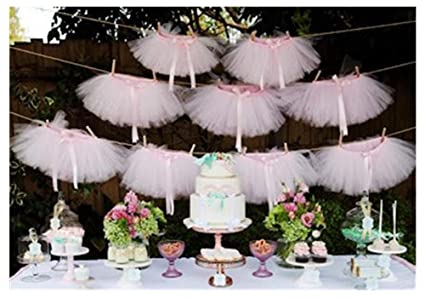 Originals Group Tutu Table SkirtBaby Pink Tulle Skirt Decor Birthday Event