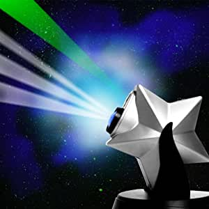 SCS Direct Can You Imagine Laser Twilight Stars Projector - Bring The Night Stars & Sky Into Your Home