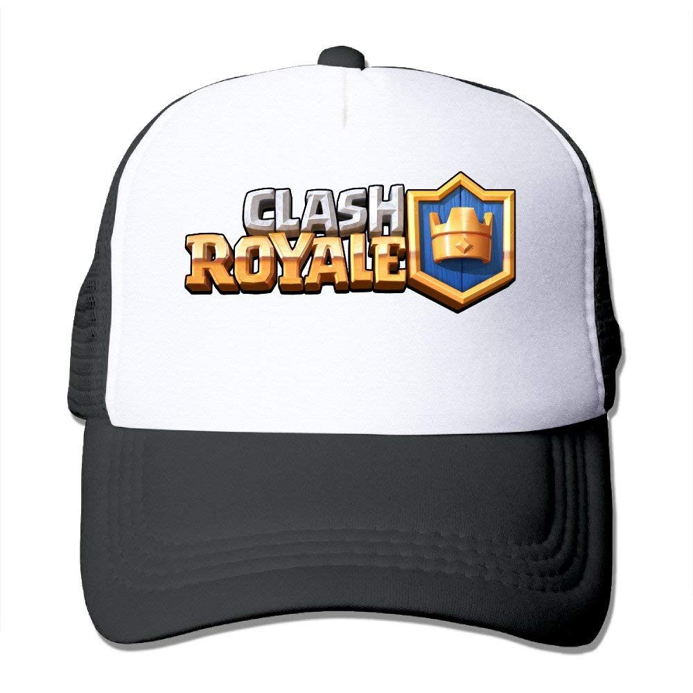 LUPNZ AKANT Clash Of Clans Clash Royale Adjustable Mesh Trunk Hat For Unisex Black