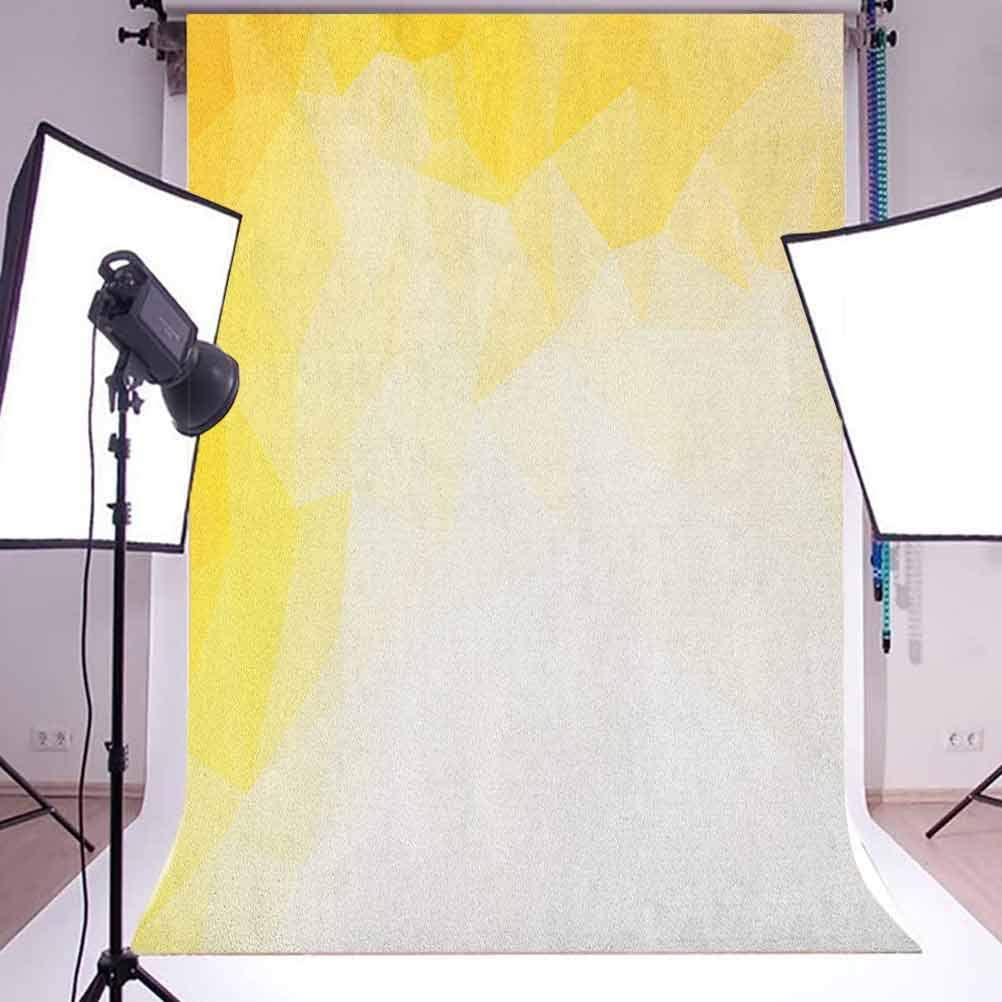 7x10 FT Orange Vinyl Photography Background Backdrops,a Flowers Petals in Graphic Style Vibrant Summer Nature Design Background for Photo Backdrop Studio Props Photo Backdrop Wall