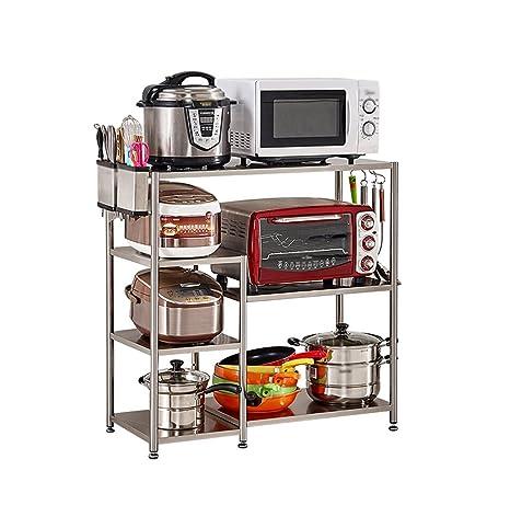 LXF Soporte microondas Estante de Almacenamiento de la Cocina ...