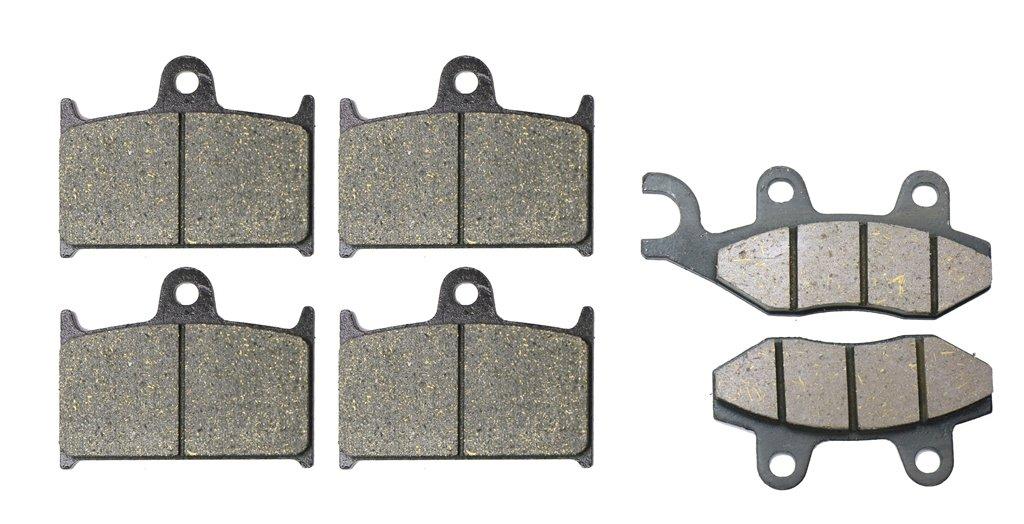 CNBK Carbon Brake Shoe Pads Set fit TRIUMPH Street Bike 955 cc 955cc Sprint ST 99 00 01 02 03 04 1999 2000 2001 2002 2003 2004 6 Pads