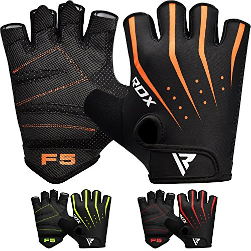 RDX Weight Lifting Gloves Workout Fitness Gym Bodybuilding B