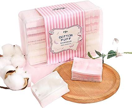 150 almohadillas de algodón para eliminar el maquillaje, compresas ...