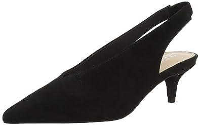 58966588bd Office Women's Miranda Sling Back Heels, (Black Suede 00079), 3 UK 36