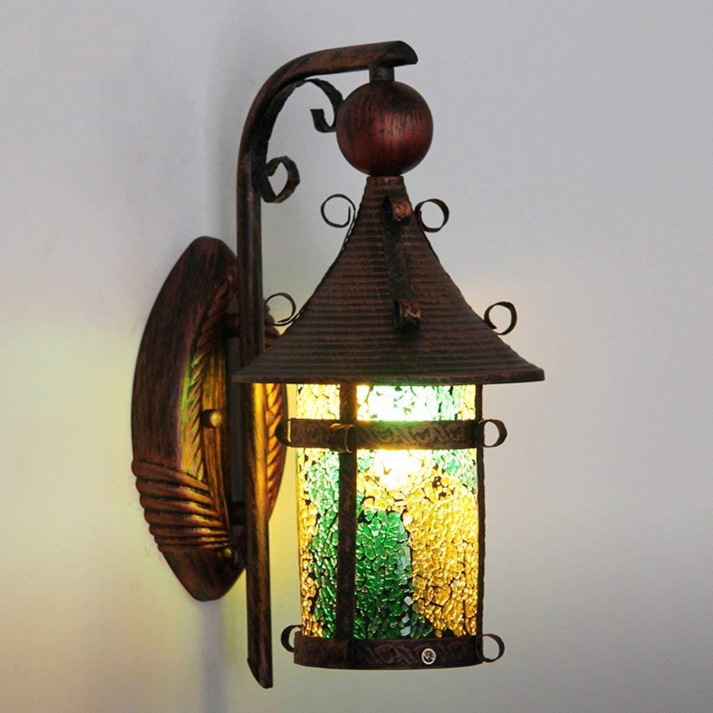 Cosa Luci Da Parete Lampada Da Parete Per Illuminazione Di Esterni Impermeabile Lampada Da Parete Per Illuminazione Di Esterni Soggiorno Decorazione Lampada Da Parete Creativa Parete Retrò B
