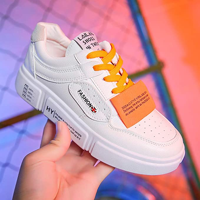Amazon.com: Dreamyth Unisex Lace-up Casual Shoes Women Comfortable Trend Fashion Sneakers Flat Shoes Sneakers: Sports & Outdoors