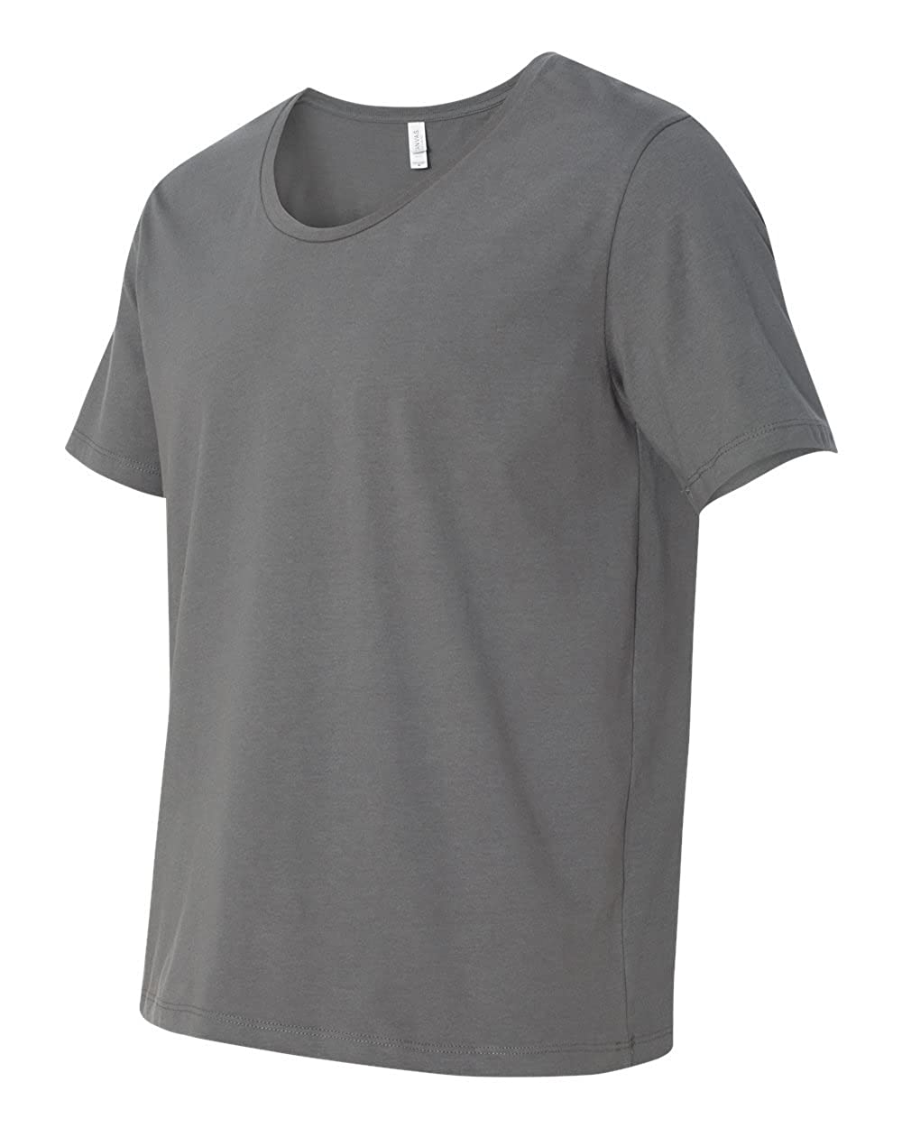 ASPHALT Bella 3406 Canvas Mens Jersey Wide Neck T-Shirt