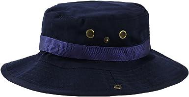 VILLAVIVI Sombrero de Pescador Camuflaje Plegable con Al Aire Libre Caza Viaje Pesca Gorro de Pescador Selecci/ón