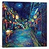 iCanvasART My Thai Crocodile Gallery Wrapped Canvas Art Print by Iris Scott, 37'' x 0.75'' x 37''