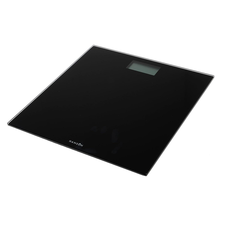Hanson hx6000 150kg Noir Verre Ultra Slim balances électroniques de salle de bains