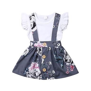 Amazon.com: Mericiny - Vestido de verano para bebé, niña o ...