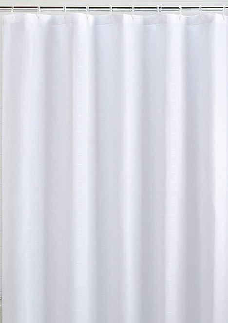 Mildew Resistant Fabric Shower Curtain Waterproof/Water-Repellent ...