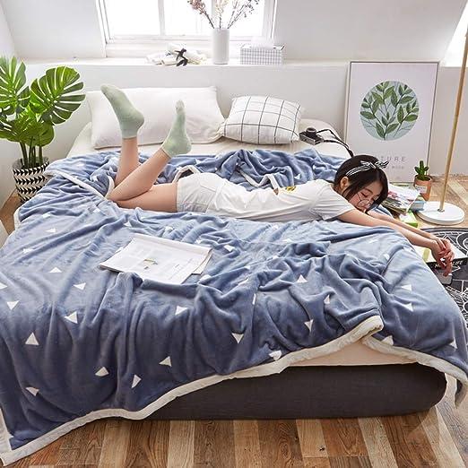 Sábanas encimeras Cartoon, Sábana de algodón Anime Invierno Engrosamiento Dormitorio Estudiante Franela Manta pequeña Niños Sábana Bajera 1 pc-Azul A 135x200cm(53x79inch): Amazon.es: Hogar
