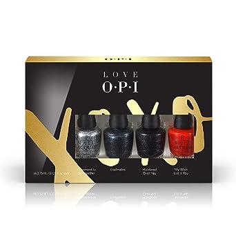 OPI Set De Esmalte De Uñas - 4 Unidades x 3.75 ml.: Amazon.es