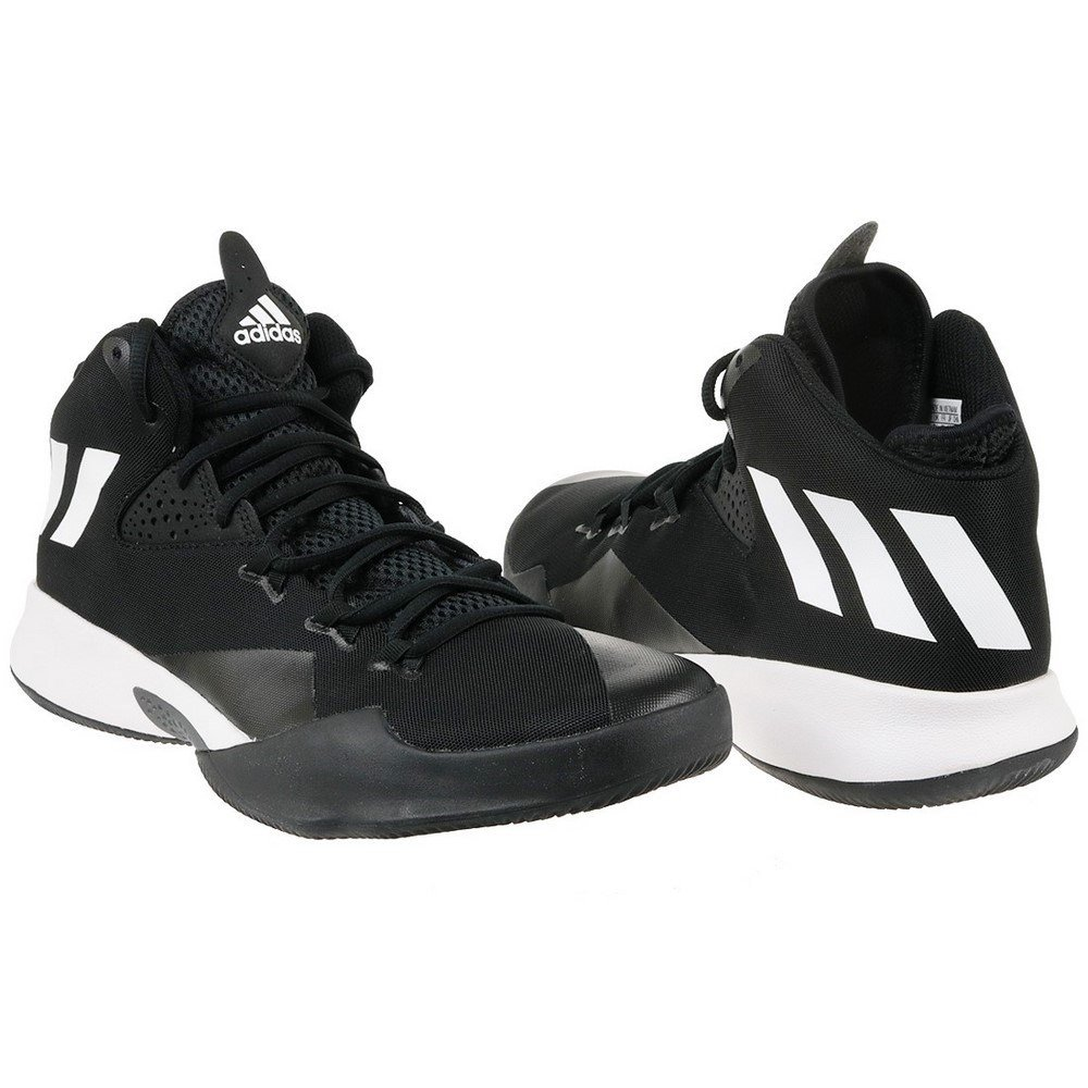 new product c84fd ed1cd adidas Dual Threat 2017, Zapatillas de Baloncesto para Hombre Amazon.es  Zapatos y complementos