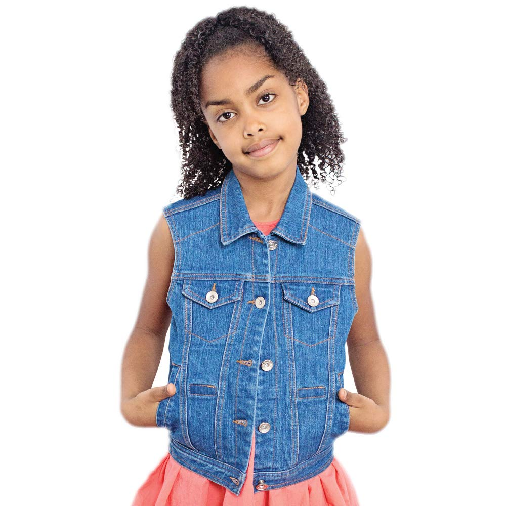Denim Weighted Vest - Helps With Mood & Attention, Sensory Over Responding, Sensory Seeking, Travel Issues