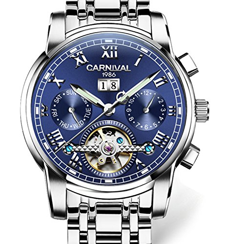 tourbillon Automatic Mechanical Stainless multifunction product image