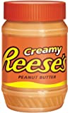 REESE'S Creamy Peanut Butter, 18-Ounce (Pack of 6)