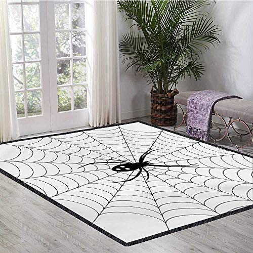 Spider Web, Area Rug for Baby Nursery, Poisonous