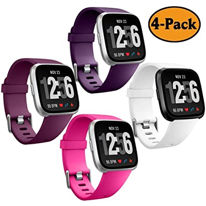 GEAK for Fitbit Versa Bands, Versa Bands Classic Sports Replacement Strap  Bands for Fitbit Versa/Fitbit Versa Special Edition, Small/Large