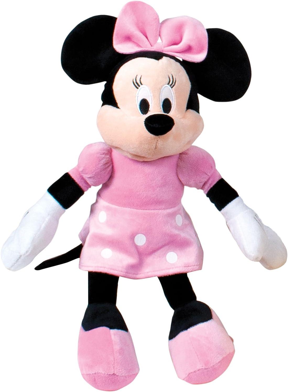 Minnie Mouse Peluche, Color Rosa (Famosa 760011896), Multicolor, 18 x 7 x 46