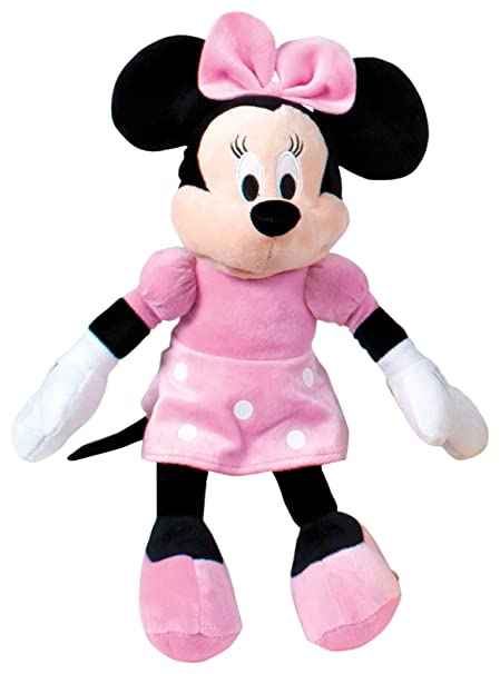 Minnie Mouse 16 Super Soft Plush Disney Junior Mickey Mouse Club House Girlfiend Cartoon