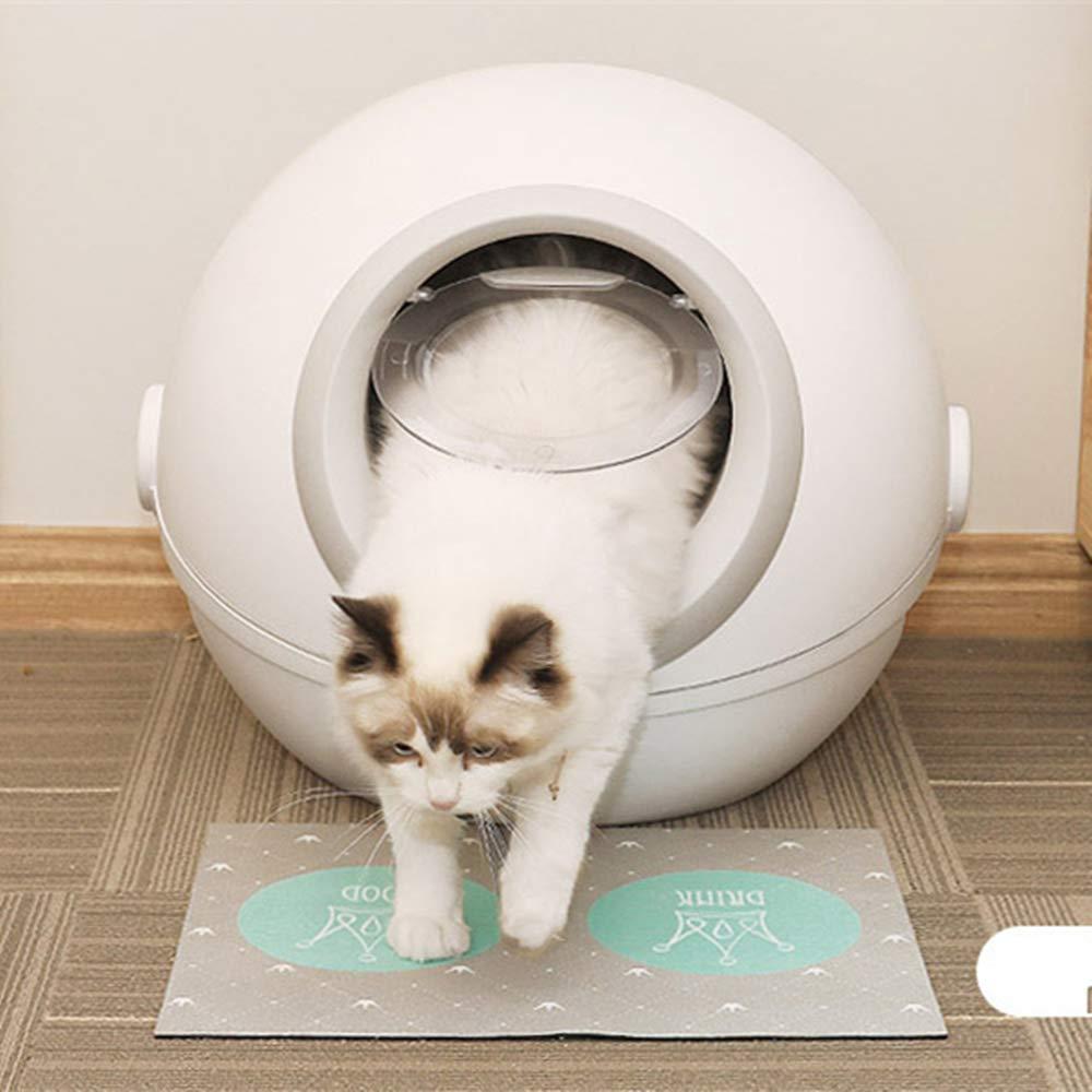 Amazon.com: Cuenco para arena de gato, con tapa cerrada ...