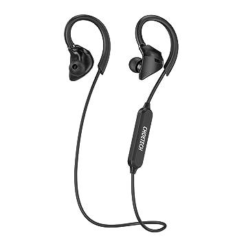 [Auriculares Deportivos] CHOETECH Auriculares Bluetooth Inalambricos V4.0 cancelación de ruido con micrófono manos libres auriculares para iPhone 7 Plus, ...