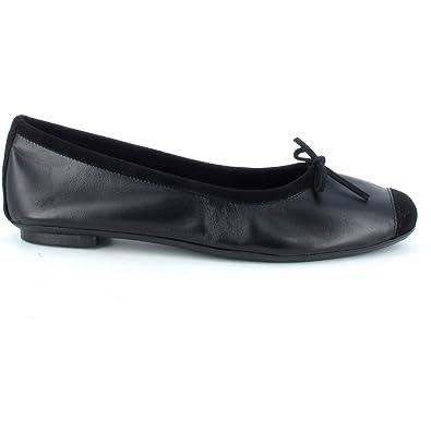 Reqins Ballerines Harmony Cuir Peau Noir  Amazon.fr  Chaussures et Sacs e1a836308c8a