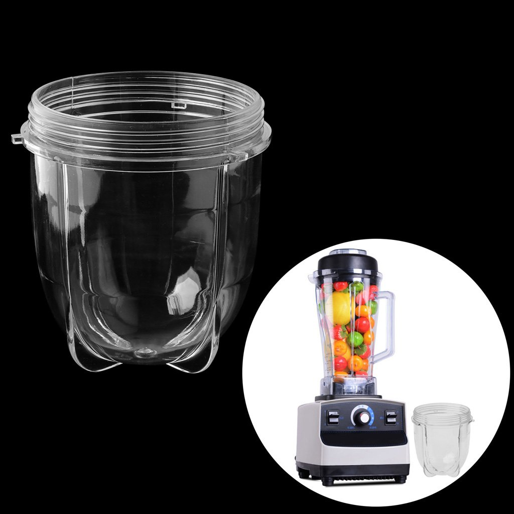 Juicer Blenders Cup Mug Clear Replacement Parts with Ear for 250W Magic Bullet Milue