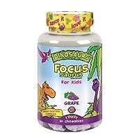 Kal Focus-Saurus Grape, 30 Count