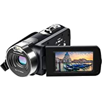 Besteker GW-001 Full HD 1080p Flash Memory Micro SD/SDHC Camcorder with 16x Optical Zoom & 2.7