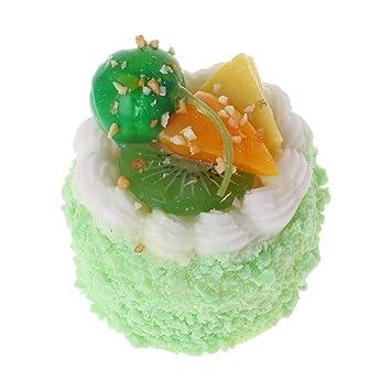 EcLife - Figura decorativa para tartas artificiales (poliuretano termoplástico, juguetes educativos, accesorios de cocina, fotografía, decoración del hogar) ...