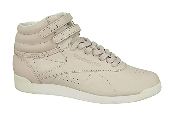 13006811 Amazon.com: Reebok Freestyle Hi Face 35 Womens Sneakers Natural ...
