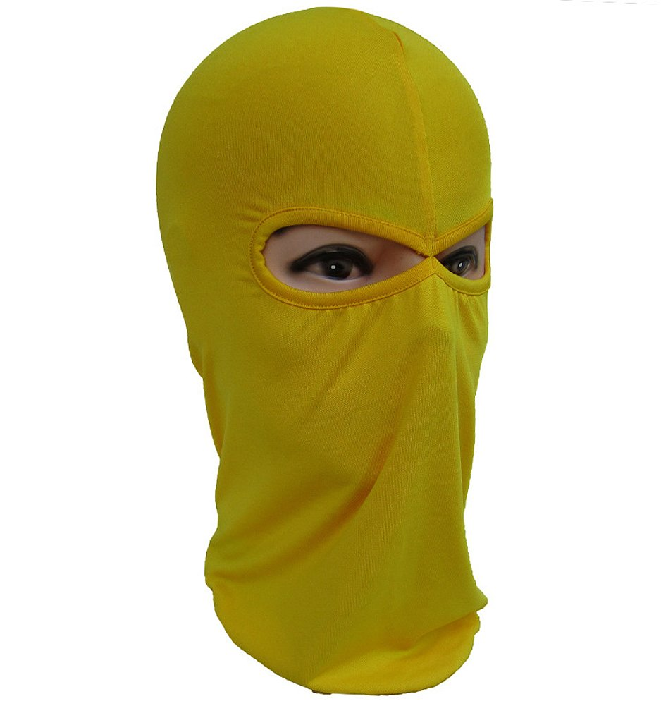 Oderola Tormenta M/áscara Licra 2/loecher Sports Balaclava Plain Mask Esqu/í M/áscara Motocicleta m/áscara Full Face Mask para Bici
