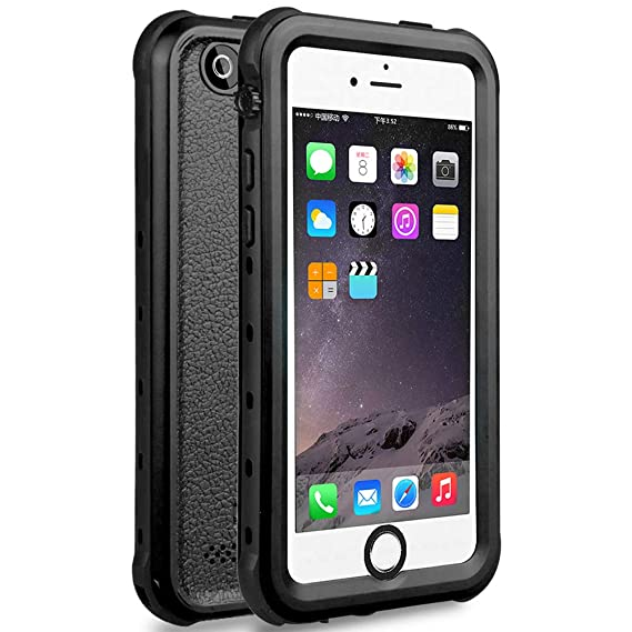 best website d47ac eacc5 iPhone 5S Best Waterproof Case, Waterproof, Dust Proof, Snow Proof, Shock  Proof Case with Touched Transparent Screen Protector, Heavy Duty Protective  ...