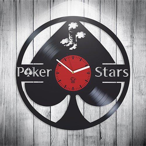 Poker Star, Pokerstars Fans Modern Art, Vinyl Record Best Gift For