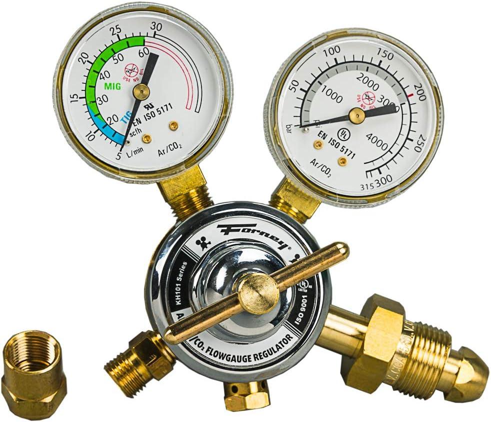B000VYN0GG Forney 85363 Argon/CO2 Regulator Kit for Mig Welder, 5/32-Inch 61RbYmajz7L.SL1000_