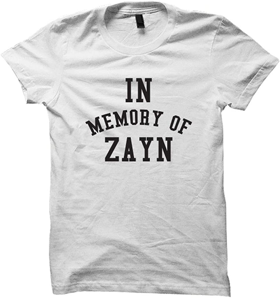 Zayn Malik T-Shirt in Memory of Zayn Shirt Unisex Shirts Tees and Tops