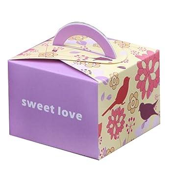Amazon De Elegantstunning Geschenkboxen Sussigkeiten Box Verpackung