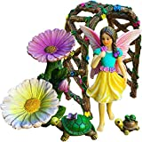 Mood Lab Fairy Garden – Figurines and Accessories Kit – Hand Painted Miniature Arch Set of 5 pcs for Outdoor or House Decor Review