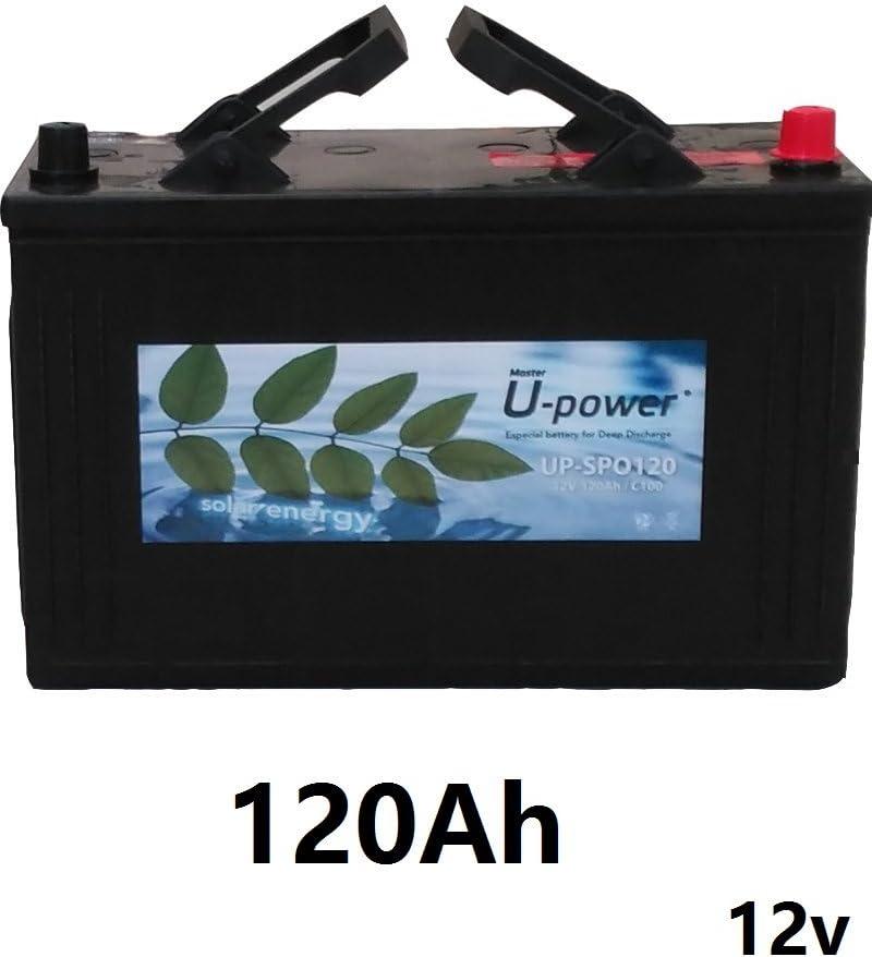 wccsolar.es Bateria monoblock U-Power 120AH 12v fotovoltaico